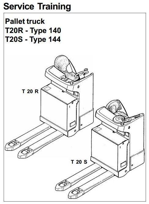 Linde Forklift Part Diagram