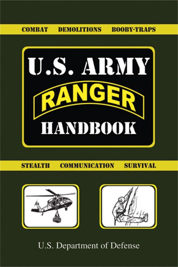 Books Ranger Handbook BK156   Books   Pinterest   Army, Us army