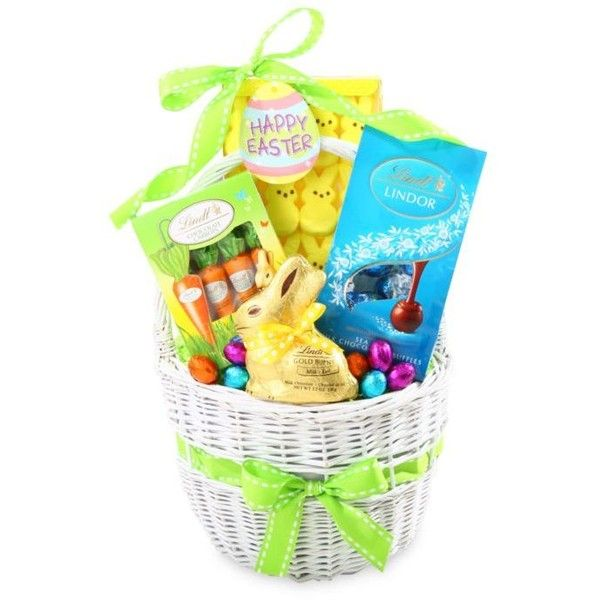 The gifting group clear lindt holiday easter basket 55 liked the gifting group clear lindt holiday easter basket 55 liked on polyvore featuring negle