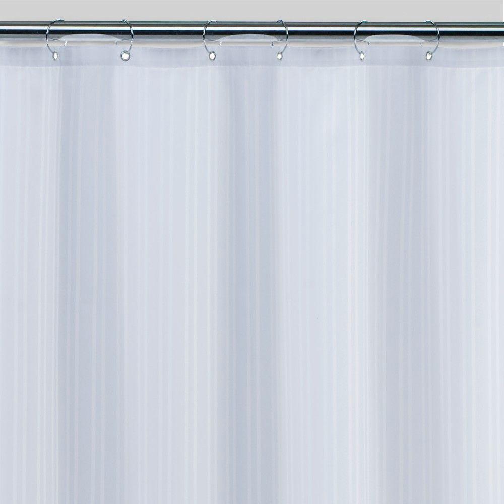 Damask Fabric Shower Liner White Threshold In 2019 Shower