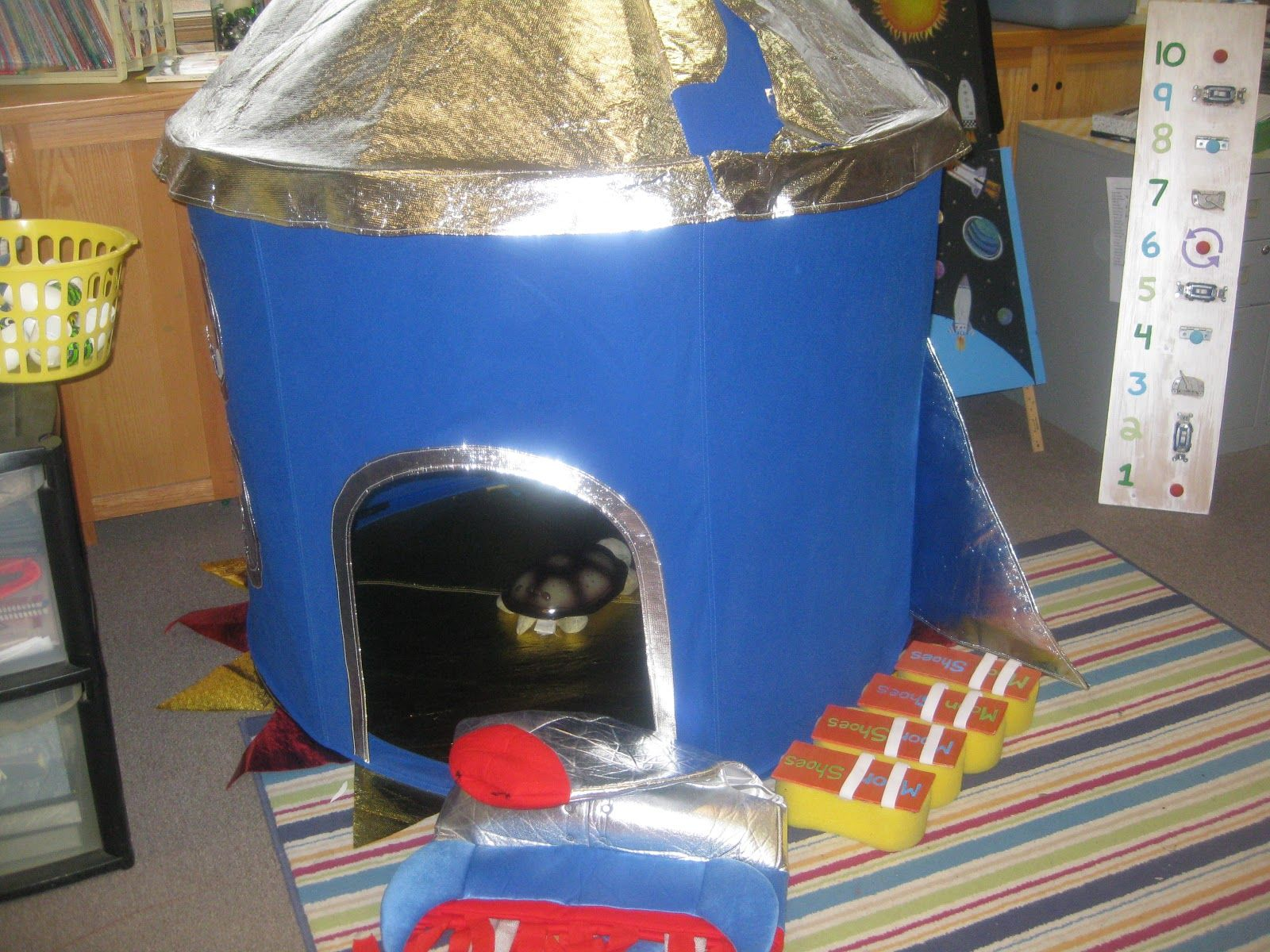Space Tent Dramatic Play