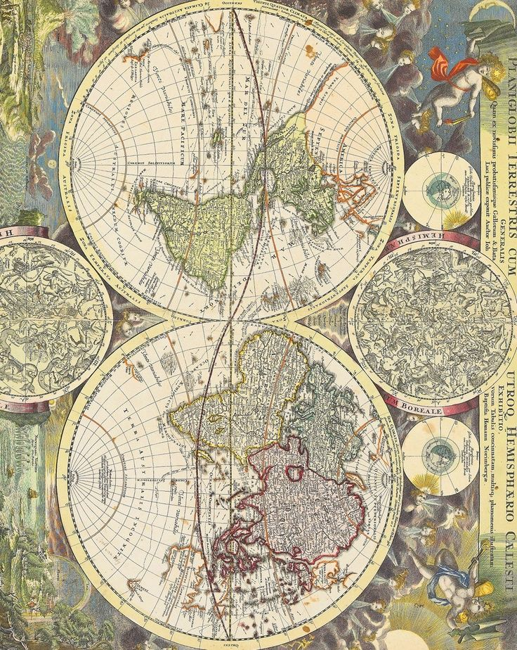 Digital vintage maps antique maps of the world 1570 instant digital vintage maps antique maps of the world 1570 instant download high resolution printable art poster gumiabroncs Choice Image