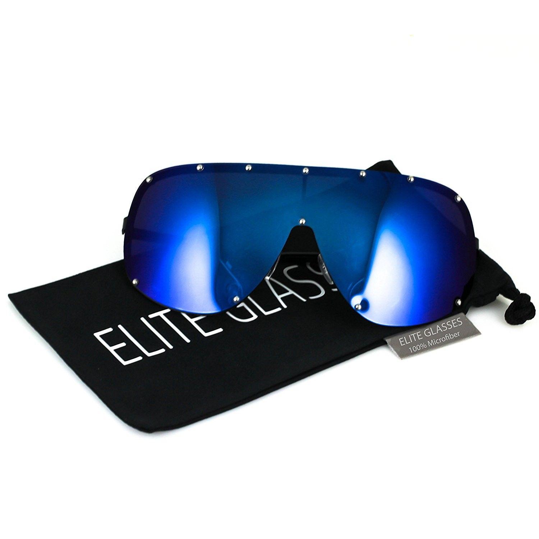 9c56759eec Oversize XXL Huge Large Shield Wrap Big Mask Polarized Sunglasses ...