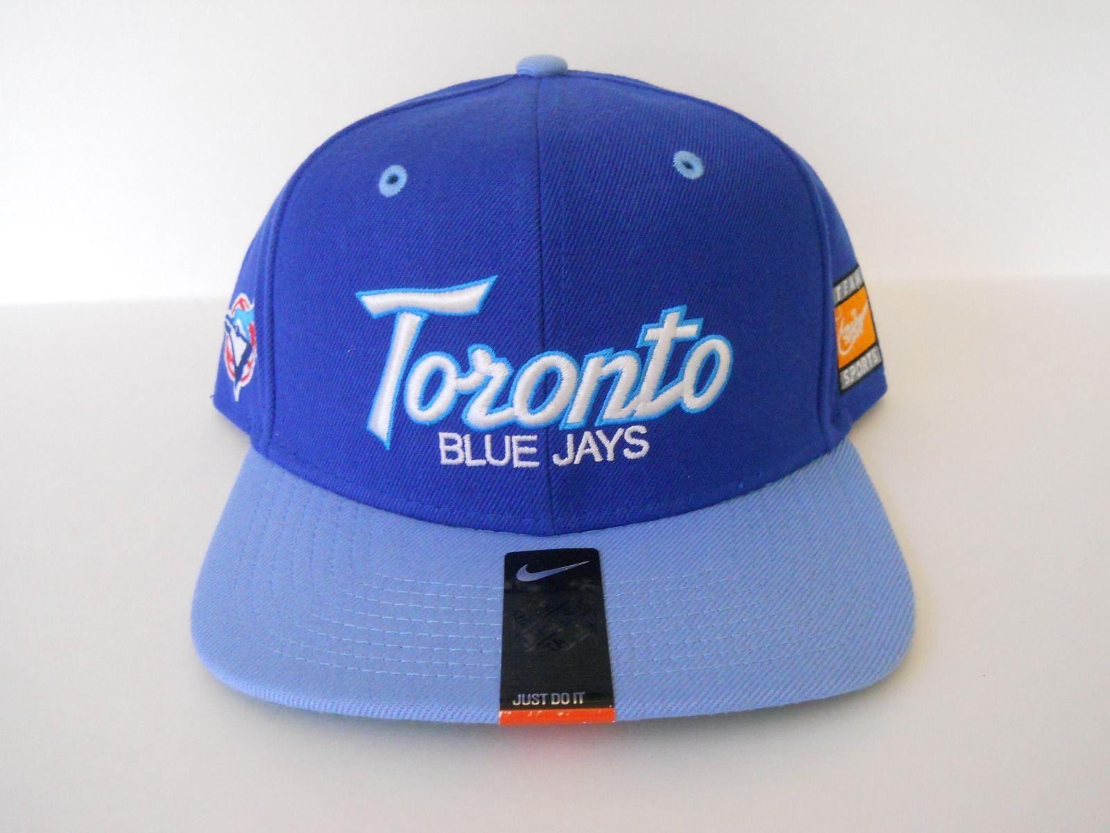 super popular 2783f 0be4e Toronto Blue Jays Sports Specialties Throwback Script Snapback Nike Coop  SSC MLB   eBay
