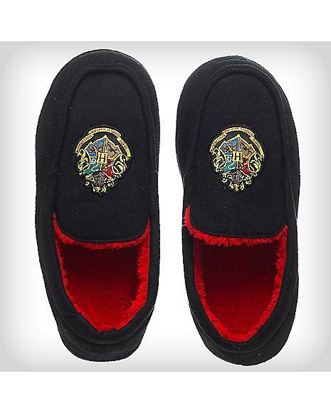 a040f39f22c2d Harry Potter Houses Moccasin Slippers - Spencer's | Shoes and ...