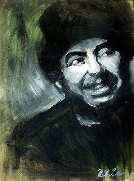 "Saatchi Art Artist Philip M Davis; Painting, ""Face Study ..."