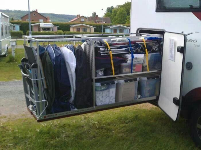 Ultimate Storage For RV Second Set Of Clothes Outside. Less Trips To The  Laundry