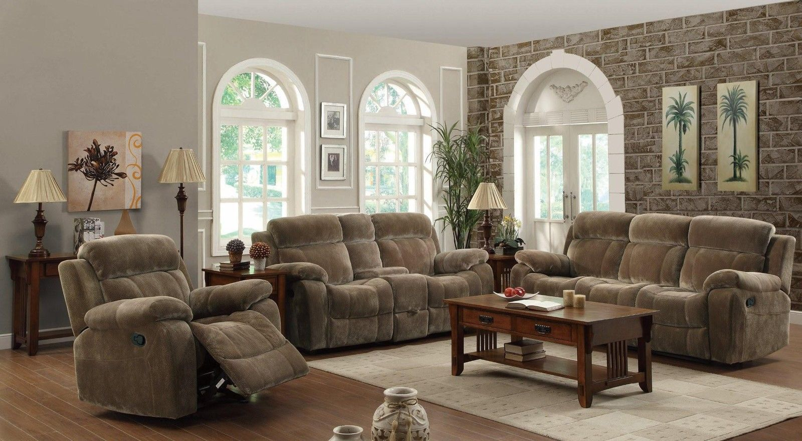 Amazing Myleene Mocha Motion Sofa Set W Pillow Arms Glider Download Free Architecture Designs Scobabritishbridgeorg