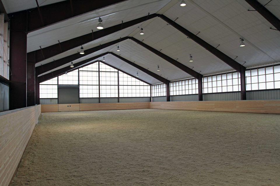 Schwalbenhof stable and indoor arena renovation design for Indoor facility design