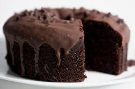 Receita Fácil:Bolo de  Caramelo e Chocolate