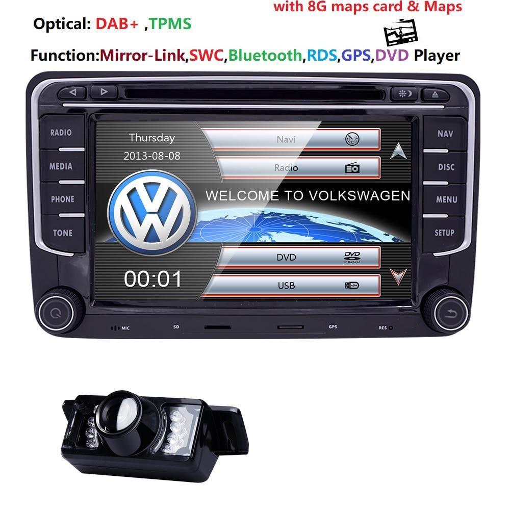 2 Din Car Dvd Player Tape Recorder For Vw Volkswagen Passat B6 B5