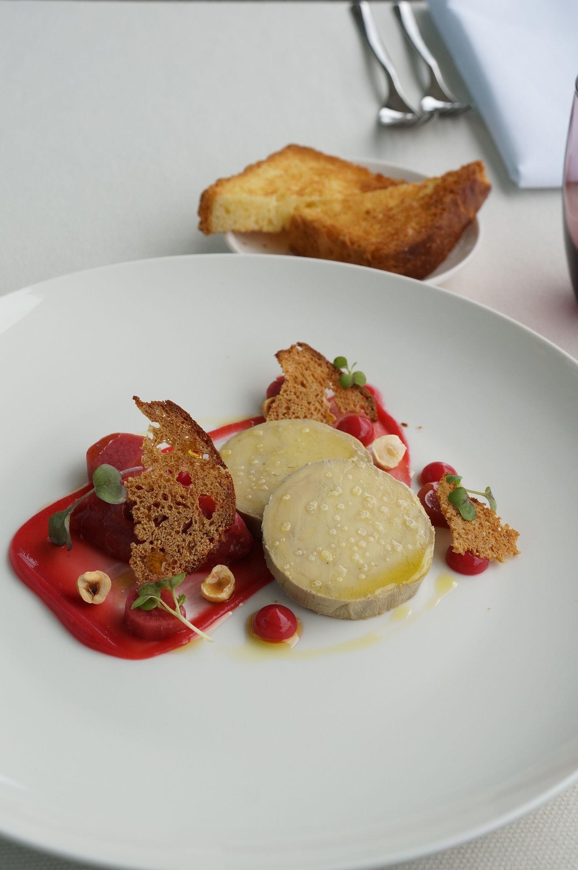 Fine Dining Foie Gras