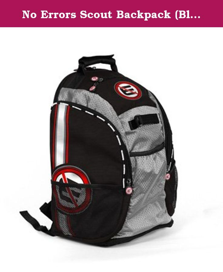 No Errors Scout Backpack (Black). The Scout Backpack is the best ...