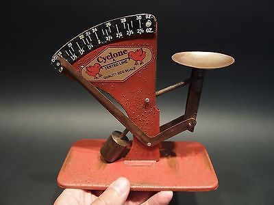 Vintage Antique Style Cyclone Egg Scale
