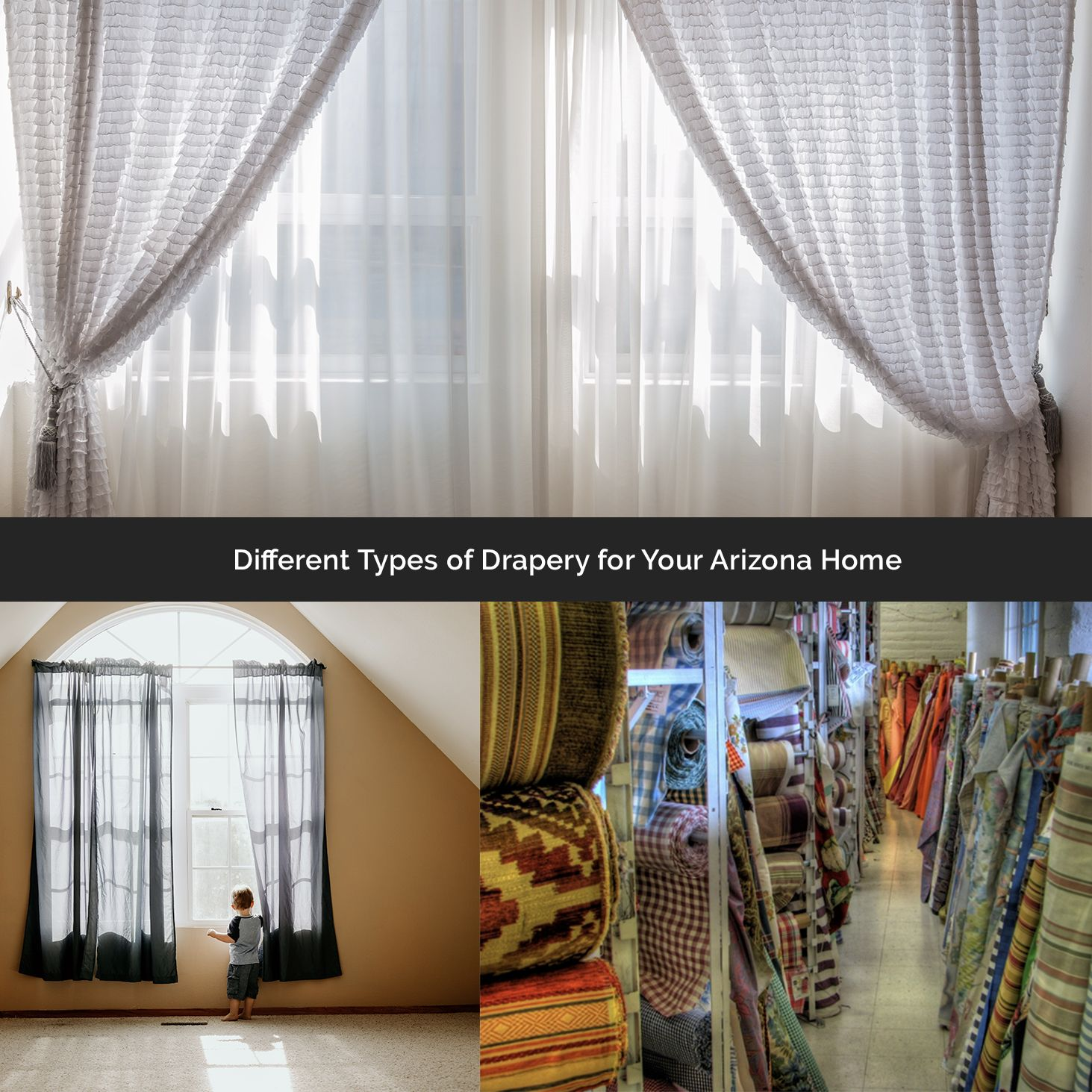 Different Types Of Drapery For Your Arizona Home Home House