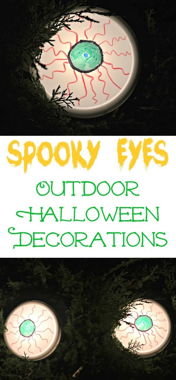 spooky eyes outdoor halloween diy decor building our story