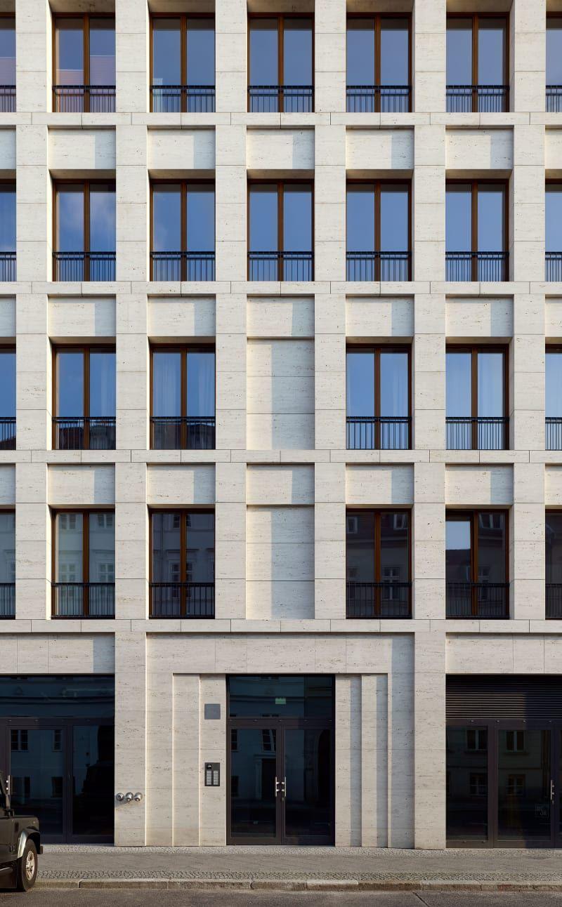 Kleihues + Kleihues, Stefan Müller · House on Max Reinhardt Platz ...