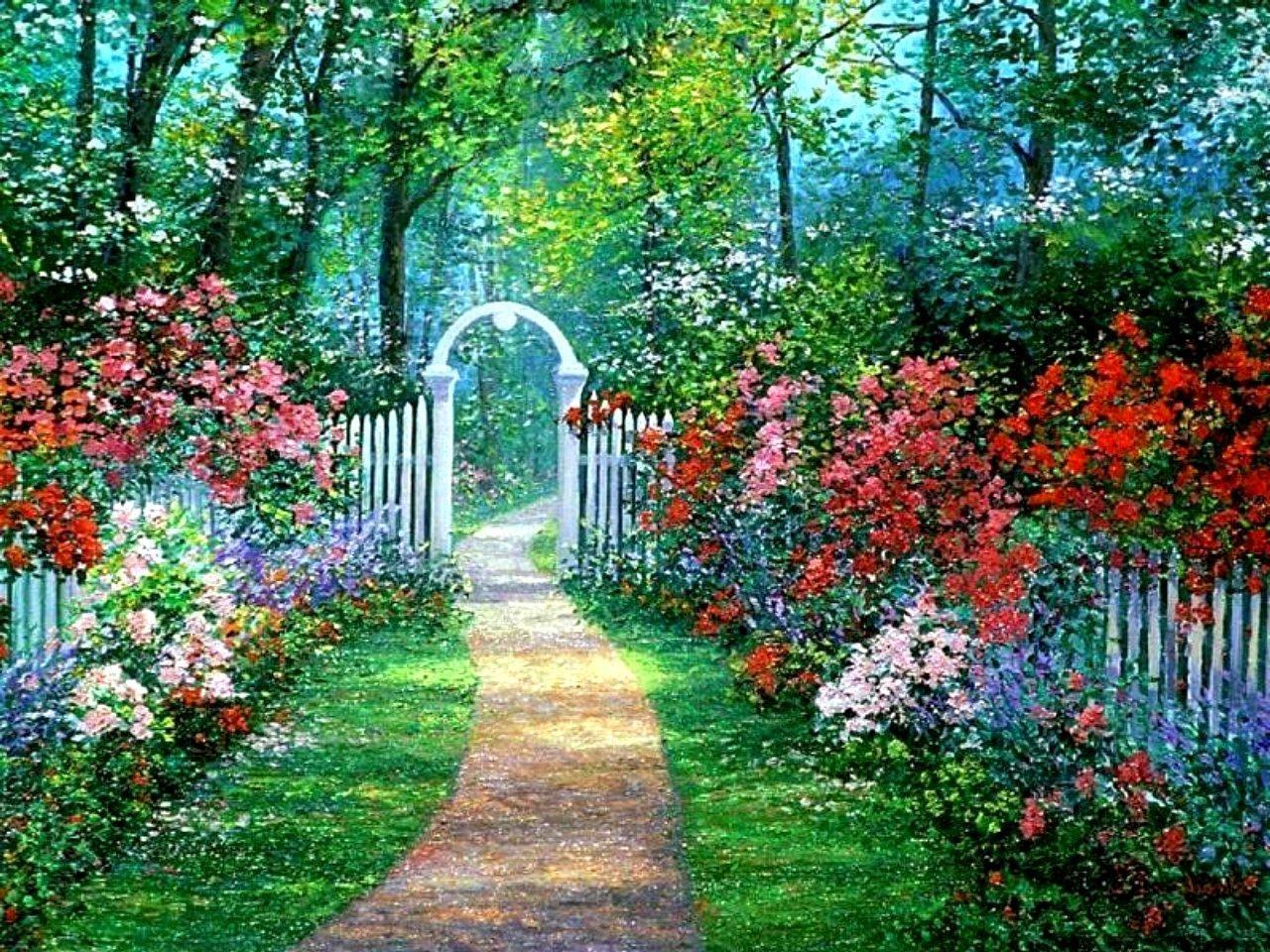 Secret Garden Flowers With Images Secret Garden Flower Garden