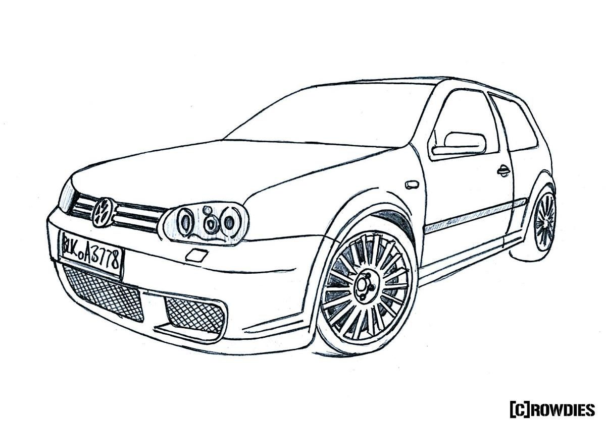 Drawing Zeichnung Tuning