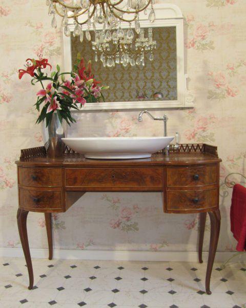 Fantastisch Gentle Breeze   Waschtisch Landhaus Antik, Waschtisch Antik, Badmoebel  Landhaus, Badmoebel Antik