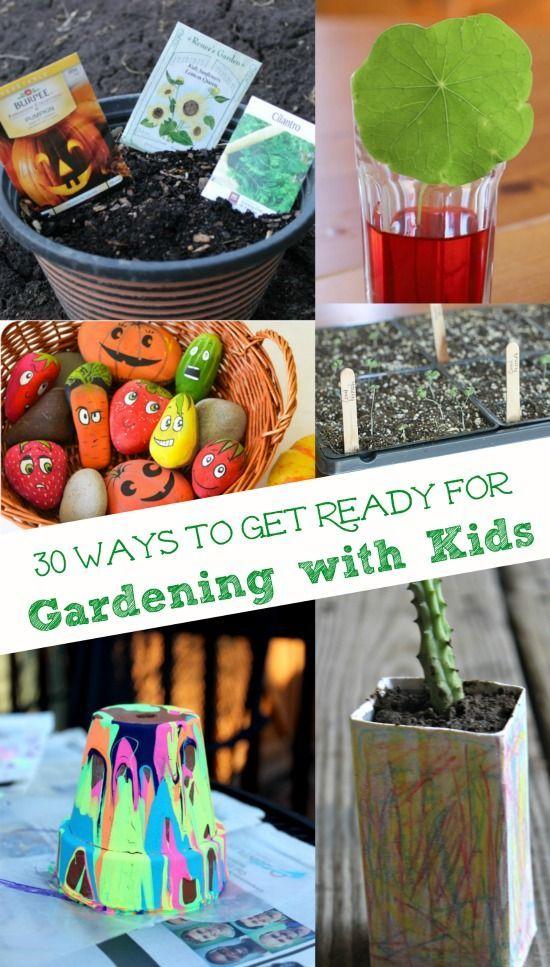 30 Kids Garden Crafts & Activities | Garden crafts for ...