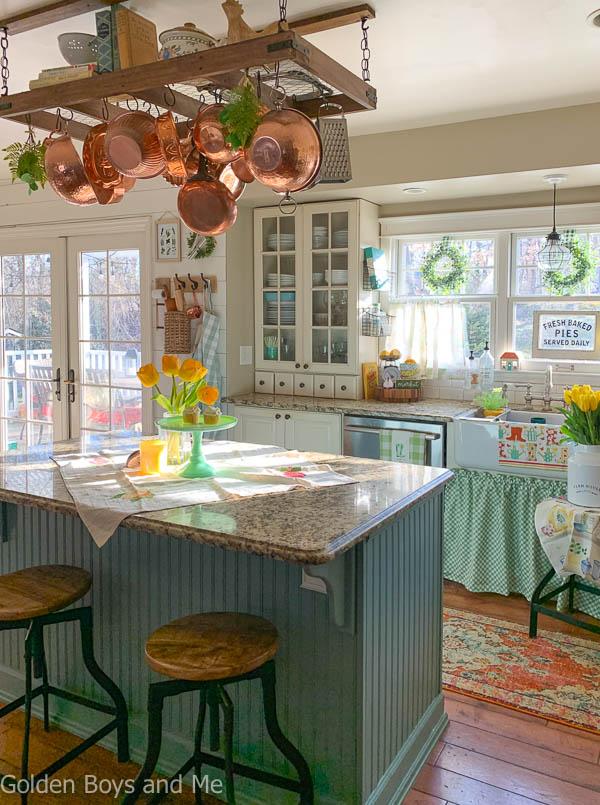Hello From Nj And Some Spring Decor In 2020 Farmhouse Kitchen Decor Cottage Style Kitchen Kitchen Decor