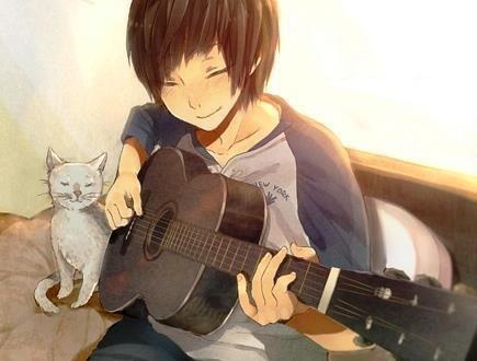 Guitar Boy Anime Dancer Anime Guys Anime
