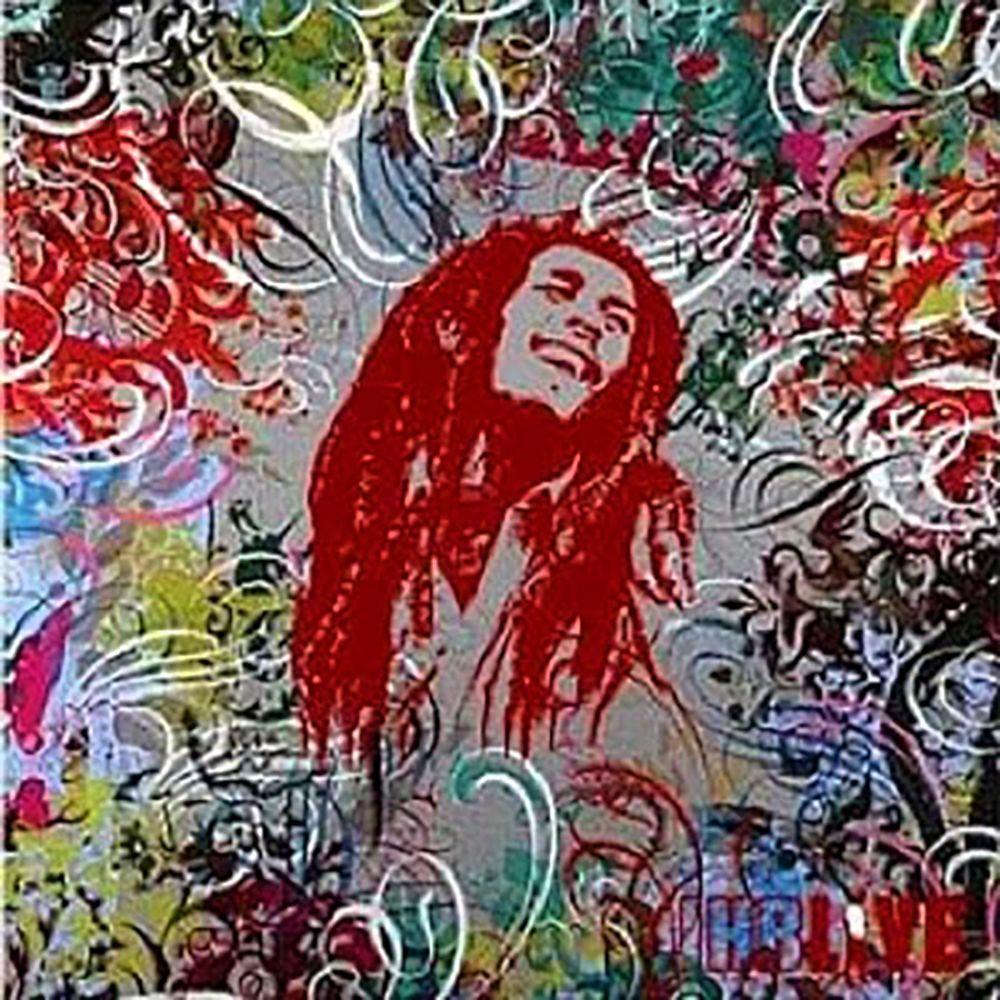 Bob Marley Live Jam 12 02 73 Album Art Bob Marley
