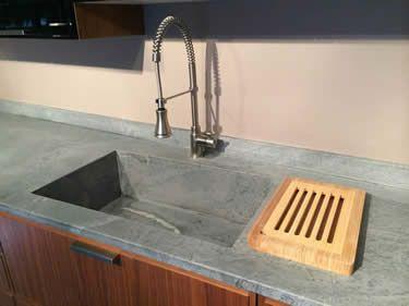 Soapstone Countertop : Soapstone Kitchen Bath : Sinks Showers Tile  Custom Made :: M Teixeira Soapstone
