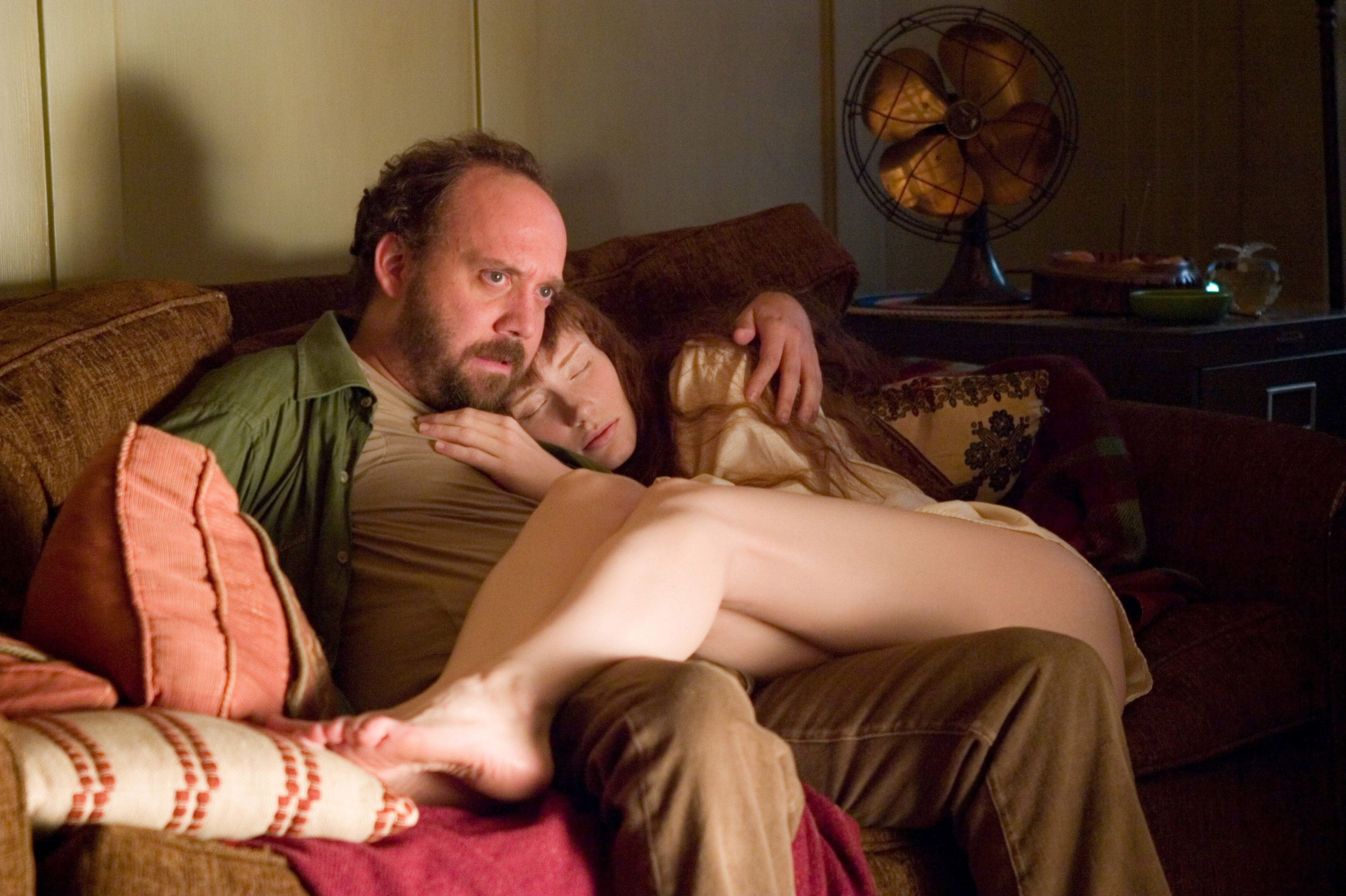 Paul Giamatti and Bryce Dallas Howard in Lady In The Water
