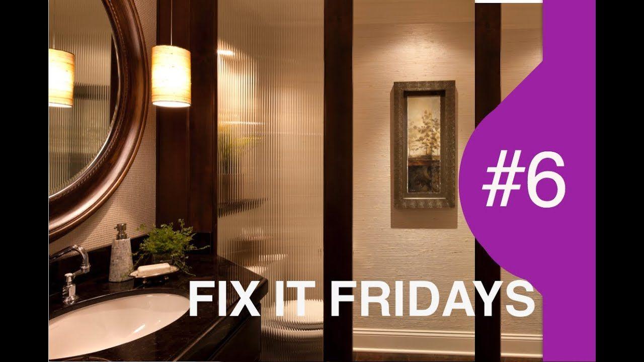 Interior Design Bathroom Fix It Fridays 6 Youtube Bathroom Interior Design Bathroom Design Bathroom Makeover