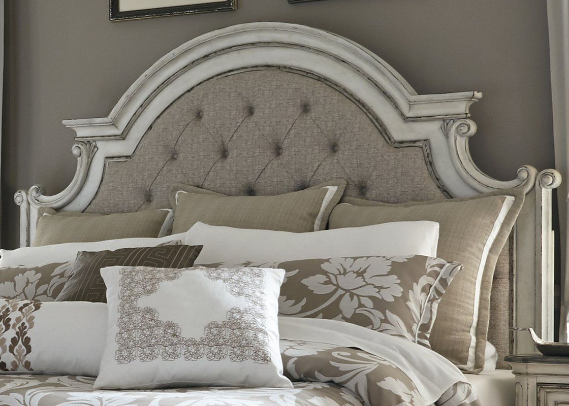 Niels upholstered panel headboard in goffstown pinterest