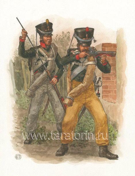 Line Infantry Grenadiers, 1812