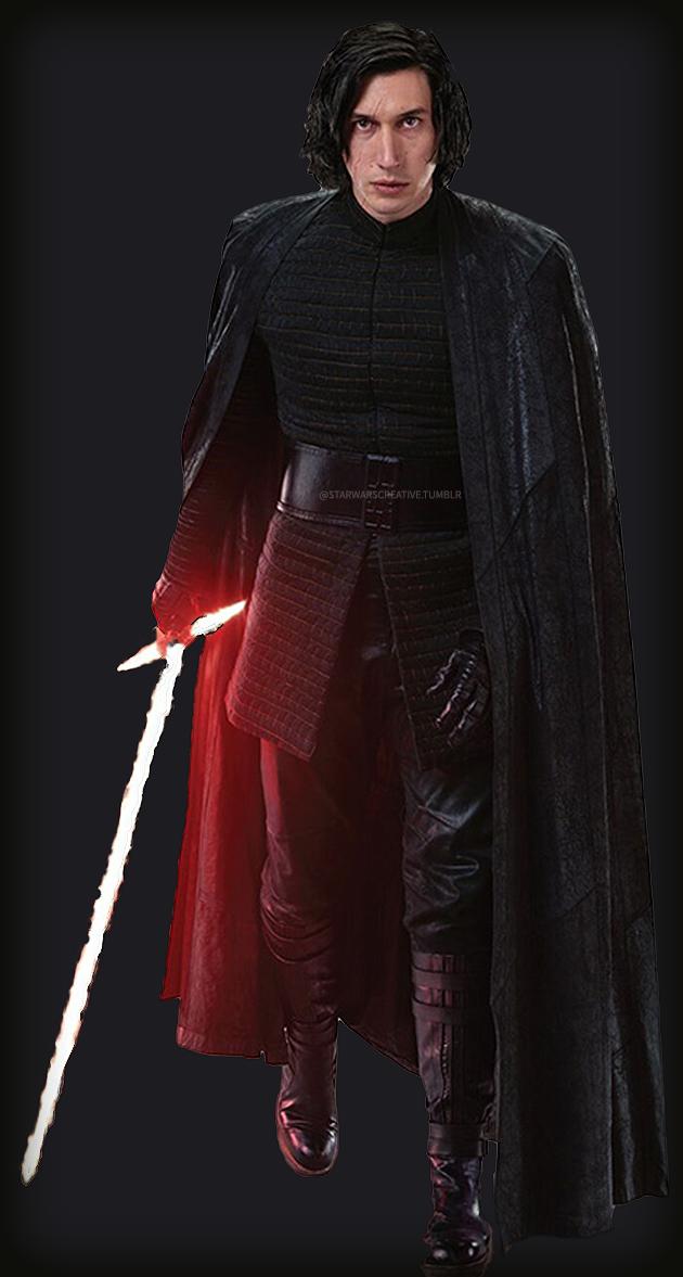 Kylo Ren The Last Jedi Kyloren Kylo Ren And Captain Phasma High Quality Edits Star Wars Outfits Star Wars Kylo Ren Star Wars Prints