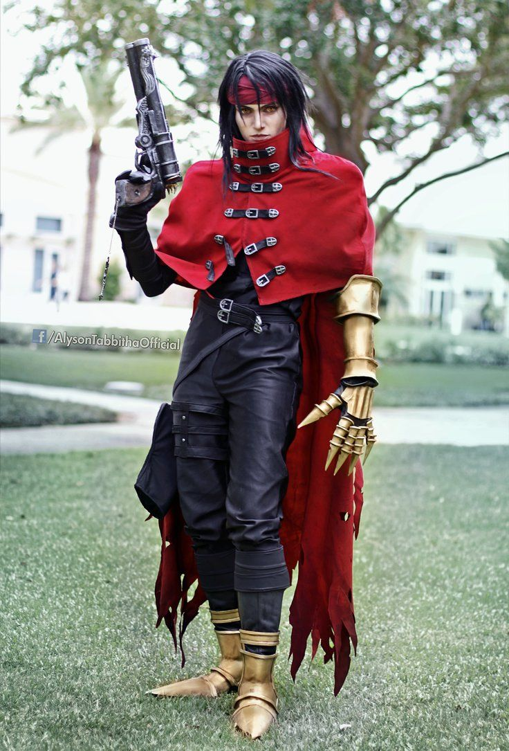 Vincent valentine crossplay by alysontabbitha on deviantart cosplay diy cosplay tutorial anime cosplay