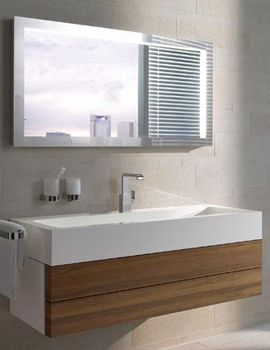 Keuco Edition 300 2 Drawer Unit 1250mm Carcass High Gloss White By Keuco.  Bathroom ...