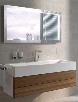 Keuco Edition 300 2 Drawer Unit 1250mm Carcass High Gloss White By Keuco.  Bathroom ...