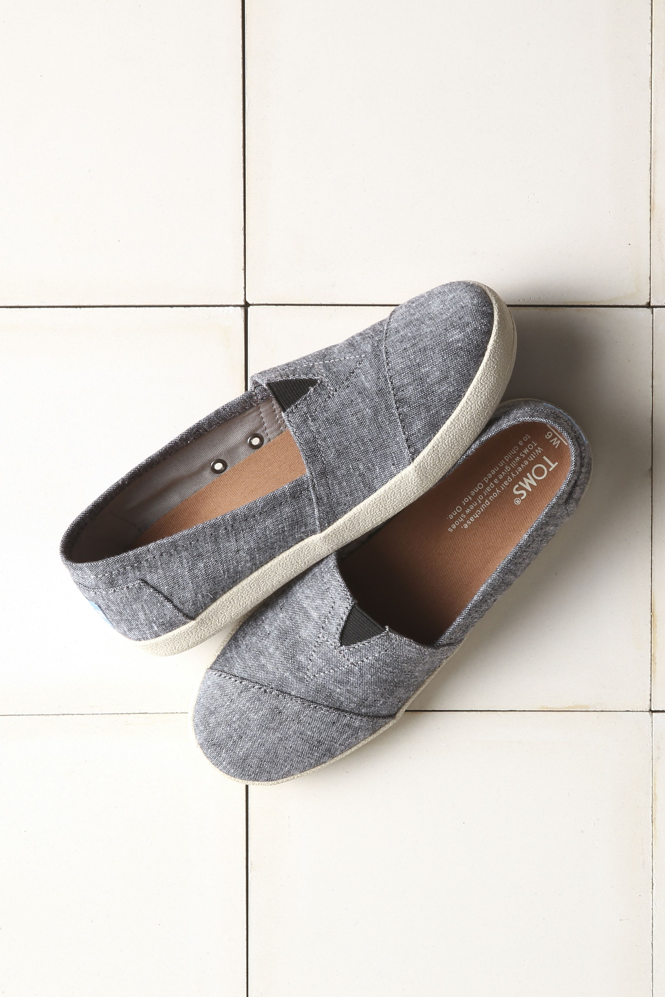 d39349a6257a All the goodness of TOMS Classics with added comfort and durability