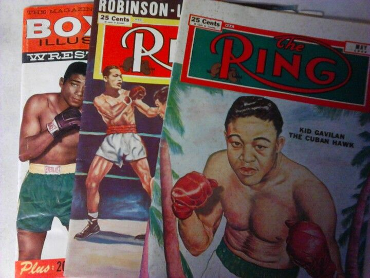 Boxing Mags 1948-51