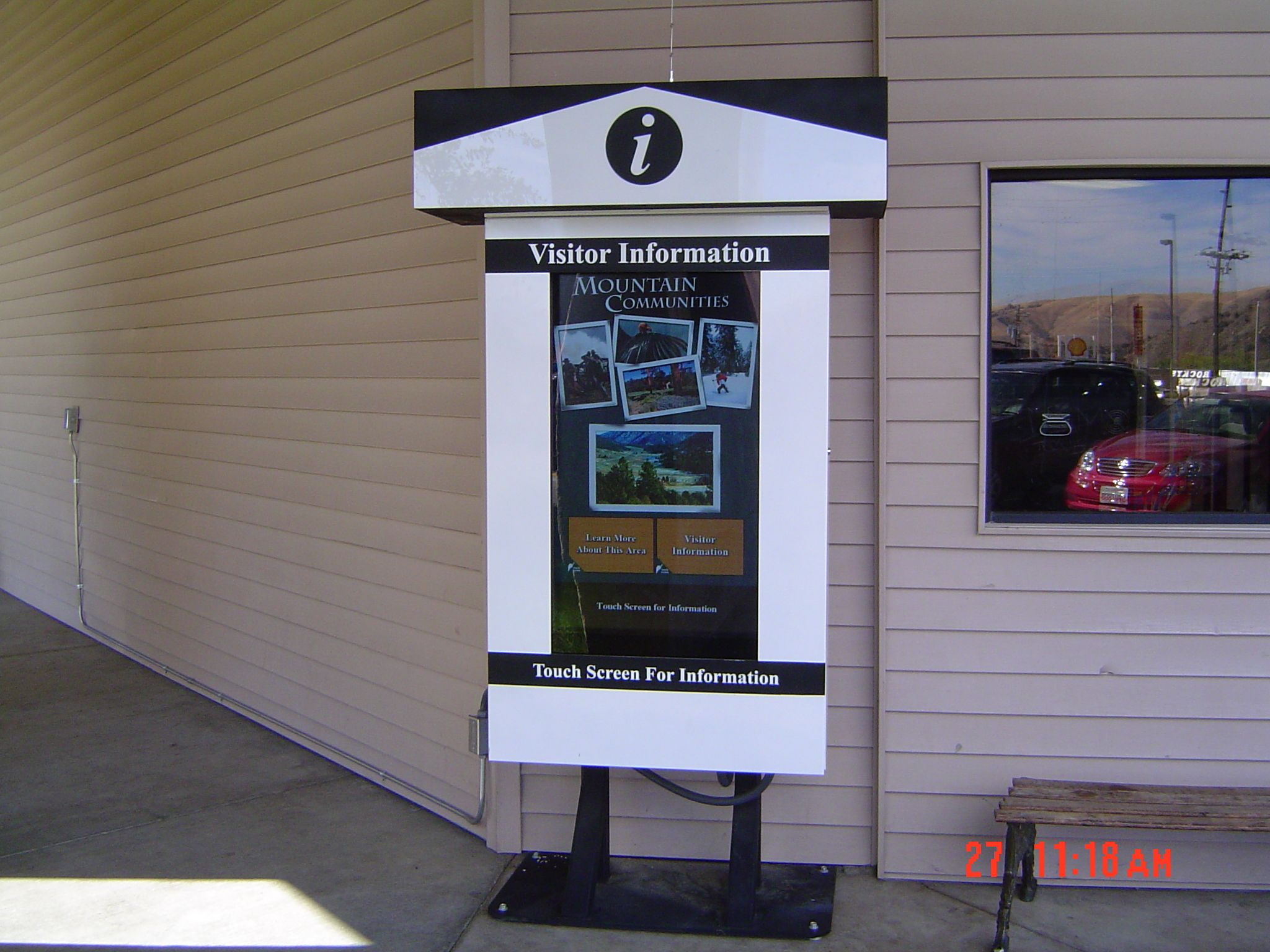 46 Inch All Weather Kisok With Images Digital Signage Outdoor
