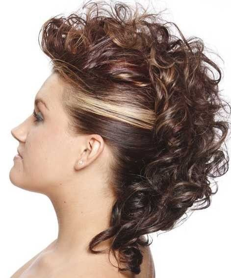 Mohawk Hairstyles For Women long top mohawk with faded sides and shaved part Find This Pin And More On Popular Hairstyles And Haircuts Women With Beautiful Mohawk