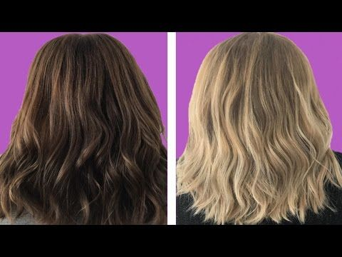 How To Bleach Your Hair At Home With Hydrogen Peroxide Youtube How To Lighten Hair Hair Lightener Diy Lighten Hair Naturally