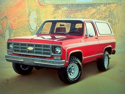 Chevrolet K5 Blazer 1976 Chevrolet Blazer Chevrolet Chevrolet