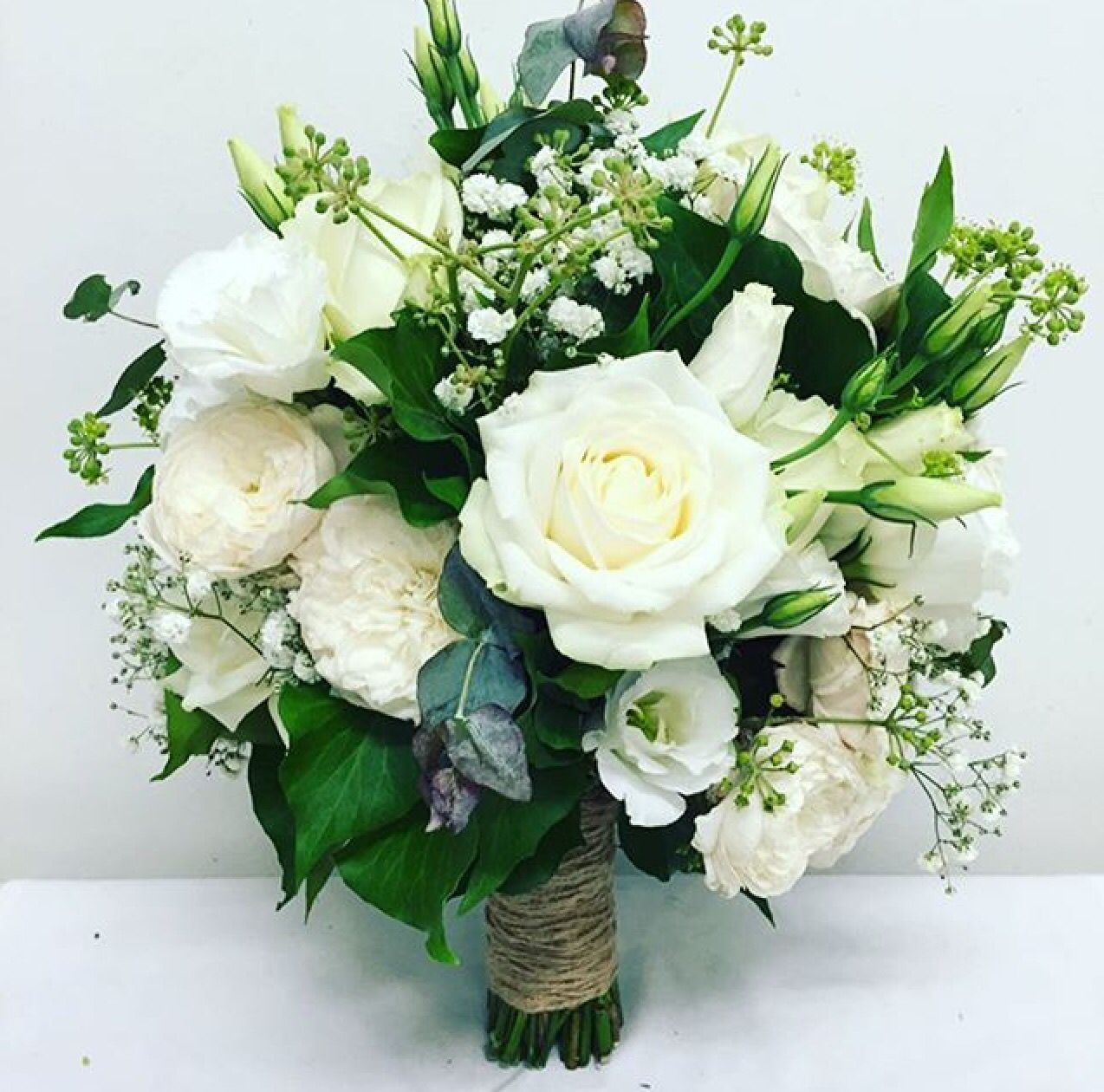 Wedding Flowers Melbourne: Whites And Greens For This Gorgeous Botanical Bridal