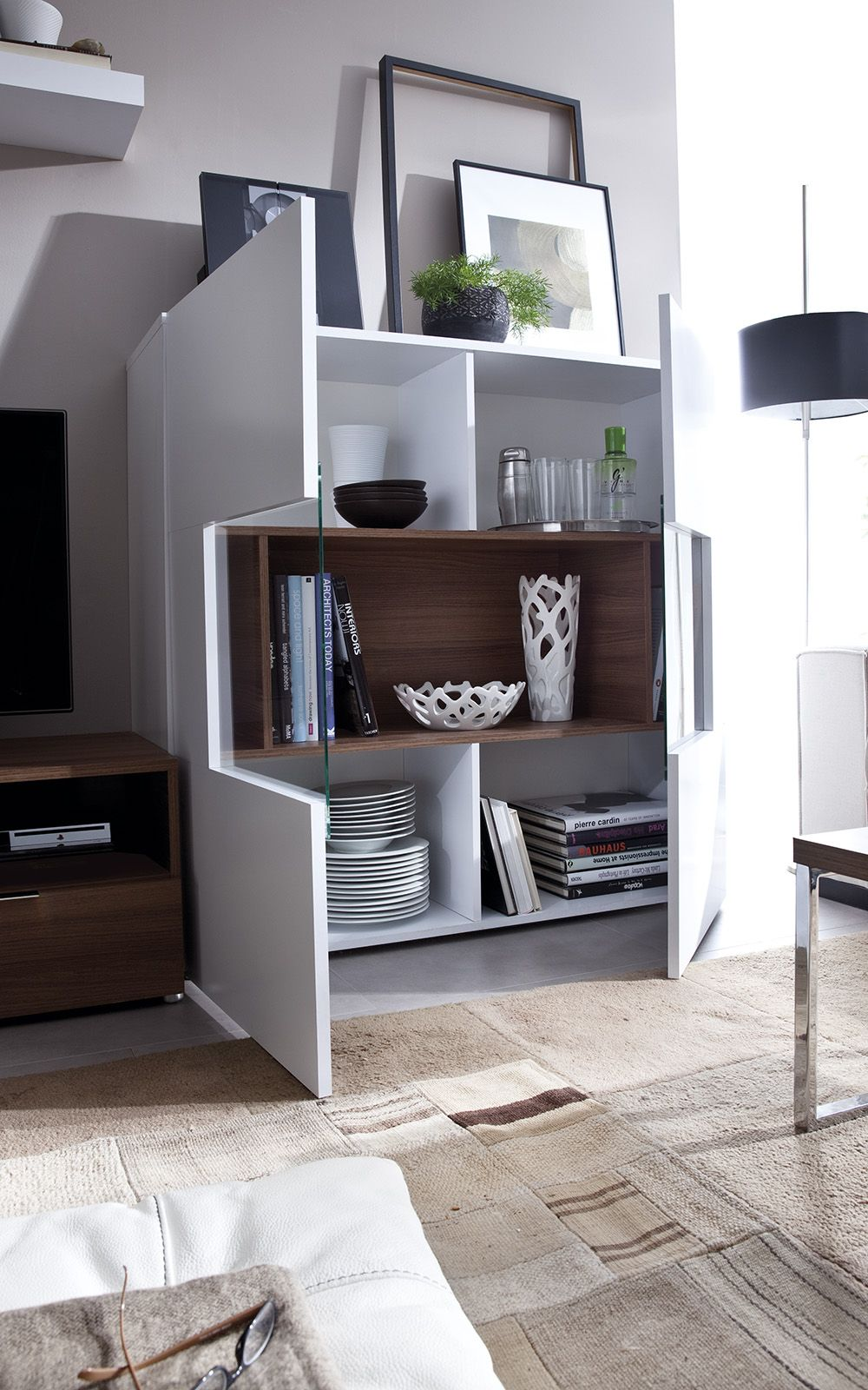 Wall Unit Crea Cr 03x By Rimobel Wallunit Livingroom Furniture  # Muebles Piferrer La Garriga