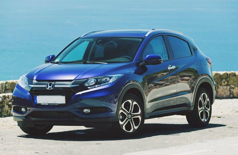 2019 Honda Hrv Facelift Suv Specs Honda hrv, Honda
