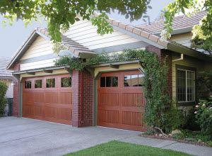 Model 983 Impression Garage Doors Garage Doors House Exterior Residential Garage Doors
