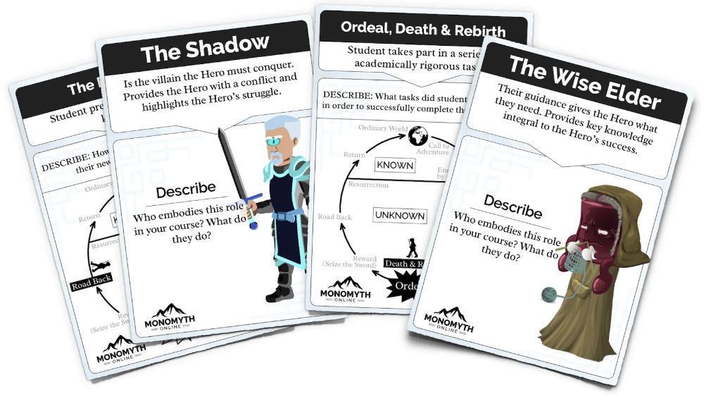 Monomyth Online Games in 2020 Epic hero, Card games, Hero
