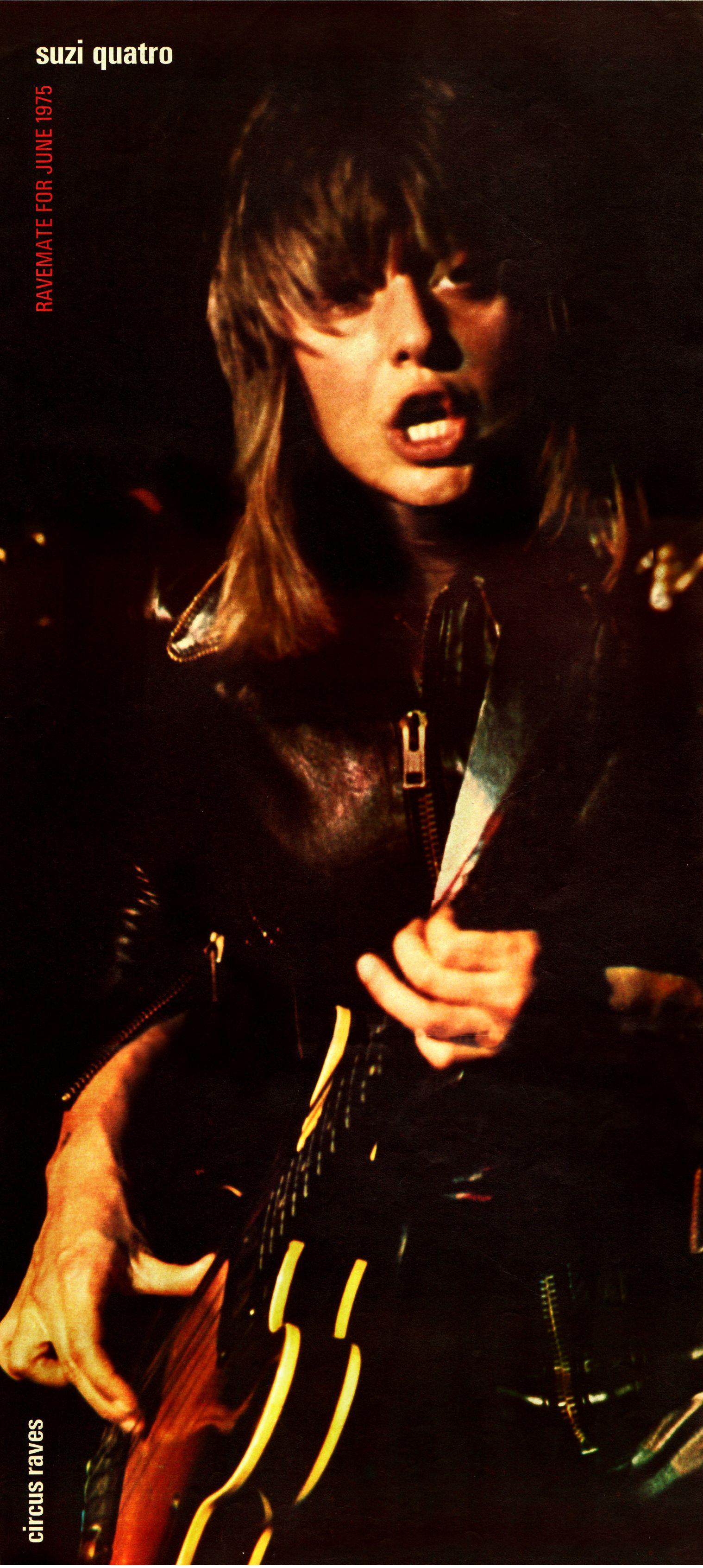 Suzi Quatro Circus Rave Usa 1975 V 2020 G
