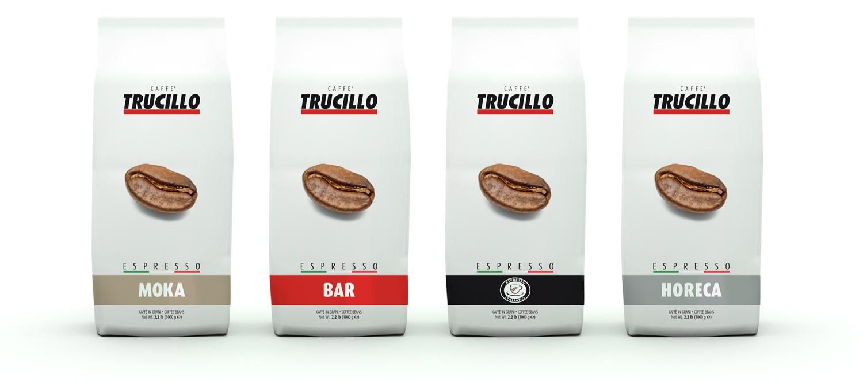 Caffè Trucillo packaging 1000g coffee beans Moka, Bar